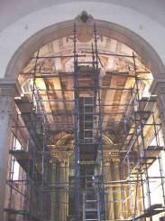 Revestimento final em pintura mural