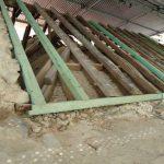 Substituição seletiva de peças em madeira da estrutura da cobertura