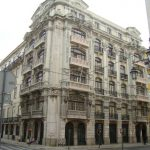 Aaspeto inicial das fachadas